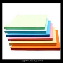 children foldable paper A4 size with many colors