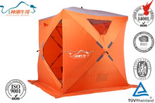 600D Oxford fabric pop up ice fishing tent shelter