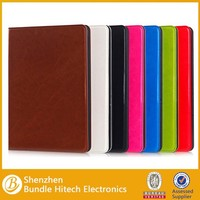 Hot selling stand leather case for ipad air 2,for ipad air case leather