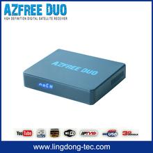 satellite decoders peru fta satellite receiver azbox bravoo hd az america Azfree DUO with free iks sks for colombia