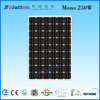 new china high quality products for home 250W solar panel