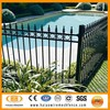 high quality amd low cost square tube iron fence panels, metal fence