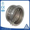 stainless steel split disc check valve