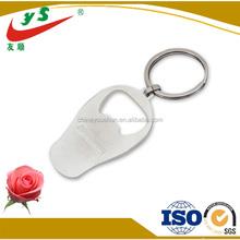 Hot souvenir metal bottle opener keychain metal key chain key ring