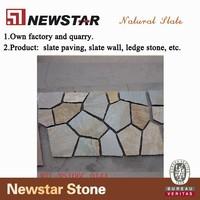 Newstar meshed slate landscaping stone