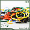 Colored rubber ring for stopper