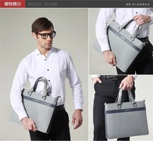 DB43 china brand elegent men handbag long strap leather tote bag