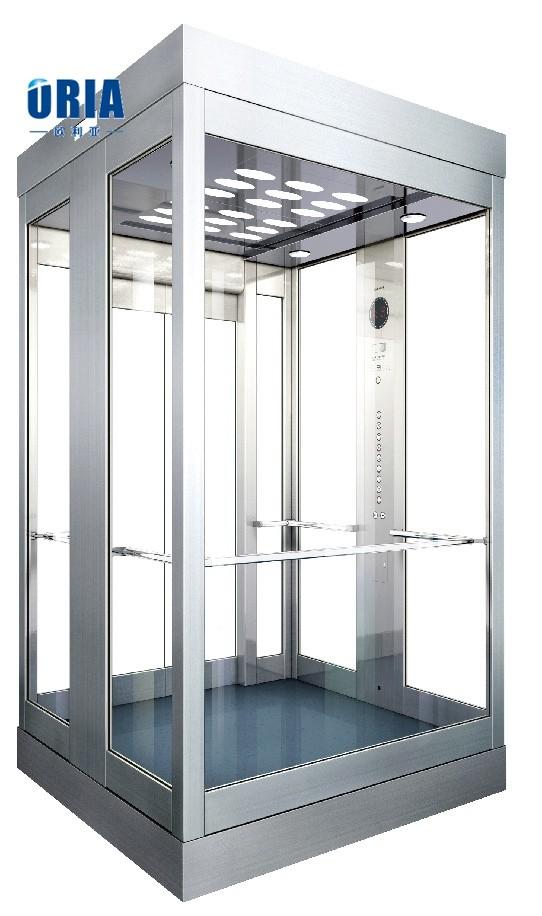oria rond ou carr en verre cabine d 39 ascenseur ascenseur. Black Bedroom Furniture Sets. Home Design Ideas