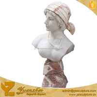life size naked lady stone busr statue