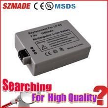 Best selling products lithium ion battery, 7.8v genuine original for canon LP-E5 battery