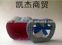 personality type apple shaped candy box