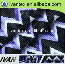 100 Polyester Knitting Solid Dyed Ruffle Fabric