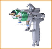 2015 best on sales agricultural machinery paint two head double nozzle gun