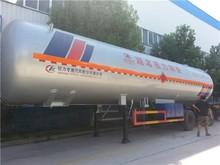 heavy lpg trailer for sell,lpg regulator with meter, propane gas tanker truck trailer.