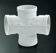 venta directa de fábrica con el precio razonable de instalación de tuberías de pvc de doble t