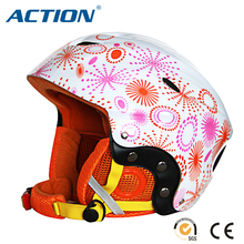thermal liner ski sports helmet CE certificate colorful cover