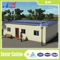 steel material and sandwich panel houses