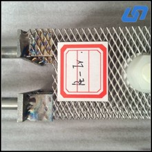 titanium anode and cathode for swimming pool