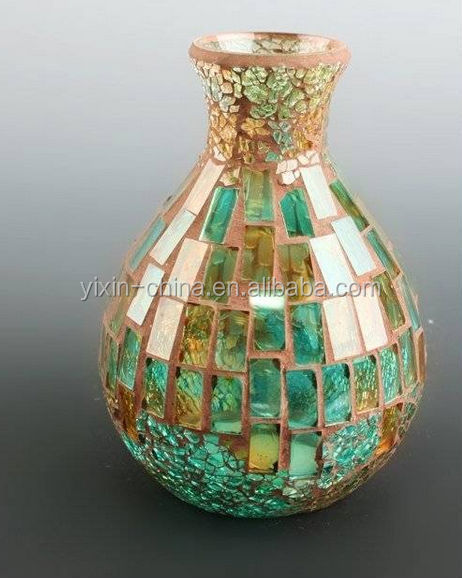 Exquisite Fashion Supply Glass Mosaic Vaseall Kinds Of Glass Mosaic
