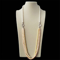 2015 hotselling latest long chain coat chain necklace