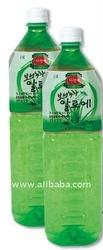 Bosung Green Tea Aloe PET