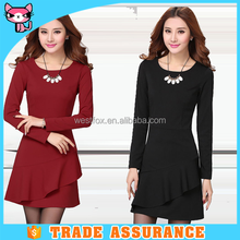 Office work fashion high quality casual office dress