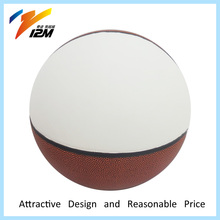 Beautiful blank basketball for signing your name