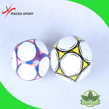 PU football soccer ball/ pu football World Cup size 5 machine sewn PVC football Customized Real leather foot ball