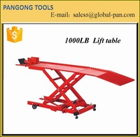 1000LB hydraulic scissor lift table for car motorcycle