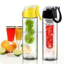 eco friendly 25oz tritan detox water bottle infuser 2016 new fruit infuser water bottle 800ml plastic raw material