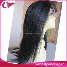 Very long stock cheap virgin human brazilian hair full lace wig 32 inches