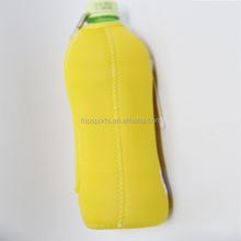 neoprene beer wine bottle holder, 500ml water bottle holder with handle