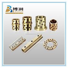 Customized Oilite Bushing/Graphite Bronze Bushing/Flanged Oilless Guide Bearing Free maintenance