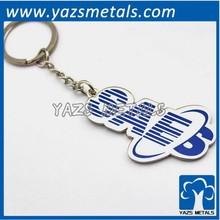 advertising custom metal name keychain
