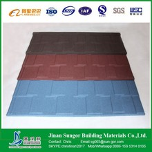 Al-Zinc Steel Plate Stone Chip Coated Colorful Metal Roof Tile in China