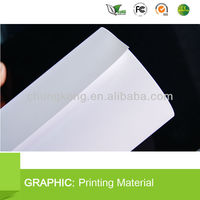 High strength white Eco-solvent Frontlit Film for posters