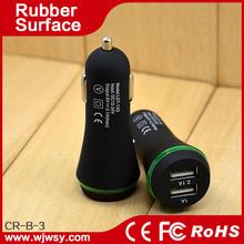 Hot New Fashion Design Innovative High Quality Factory Wholesale Input 12-24v Output 5v 2.1a+1a Dual USB Car Adaptor