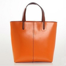2015 Guangzhou Urban fashion Artstyle female genuine leather handbag/totebag/shoulder bag