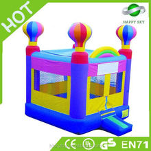HI high quality giant halloween inflatables, giraffe bouncer, moon bounce for sale