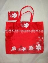 Red Folded Bag