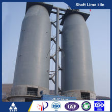 High quality vertical shaft lime kiln for steel industry accessed golden supplier