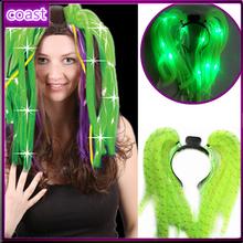 Diva dreads noodle hair accessory led flashing light up headband