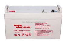 sealed rechargeable battery 12v 120ah gel battery