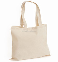 China production small quantities blank cotton tote bags