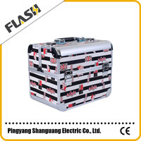 New Aluminum Cosmetic Case with Beautiful Patterns