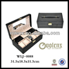 Genuine Leather Rolex Watch Box with Handle