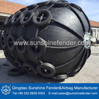 Qingdao Sunshine World Class Marine Balloon Boat Rubber Fender for sale