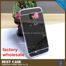 New acrylic mirror mobile phone case for samsung galaxy s5 tpu back cover