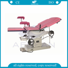 CE qualified AG-C305 multifunction gynecology delivery beds