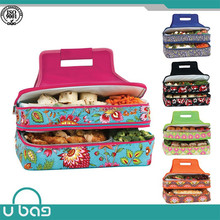 Insulated double layer wholesale kids lunch bag